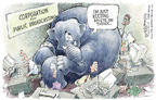 Cartoonist Nick Anderson  Nick Anderson's Editorial Cartoons 2005-06-24 press freedom