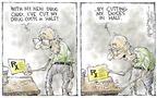 Cartoonist Nick Anderson  Nick Anderson's Editorial Cartoons 2004-07-02 medical
