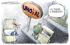 Cartoonist Nick Anderson  Nick Anderson's Editorial Cartoons 2005-07-07 globalization