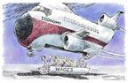 Cartoonist Nick Anderson  Nick Anderson's Editorial Cartoons 2004-07-22 economy