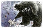 Cartoonist Nick Anderson  Nick Anderson's Editorial Cartoons 2004-09-09 Chechnya