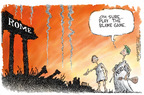 Cartoonist Nick Anderson  Nick Anderson's Editorial Cartoons 2005-09-12 Hurricane Katrina
