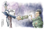 Cartoonist Nick Anderson  Nick Anderson's Editorial Cartoons 2005-09-21 North Korea