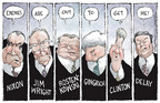 Nick Anderson  Nick Anderson's Editorial Cartoons 2005-10-02 conflict of interest