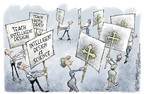 Cartoonist Nick Anderson  Nick Anderson's Editorial Cartoons 2005-11-29 science politicization