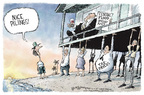 Cartoonist Nick Anderson  Nick Anderson's Editorial Cartoons 2005-12-06 Hurricane Katrina