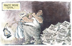 Cartoonist Nick Anderson  Nick Anderson's Editorial Cartoons 2005-12-13 yellowcake