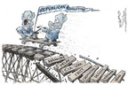 Cartoonist Nick Anderson  Nick Anderson's Editorial Cartoons 2006-01-05 fall