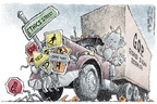 Cartoonist Nick Anderson  Nick Anderson's Editorial Cartoons 2006-01-19 congressional