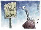 Cartoonist Nick Anderson  Nick Anderson's Editorial Cartoons 2006-02-16 gunfire