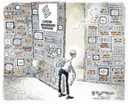 Cartoonist Nick Anderson  Nick Anderson's Editorial Cartoons 2006-02-19 capital