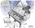 Nick Anderson  Nick Anderson's Editorial Cartoons 2006-04-06 conflict of interest