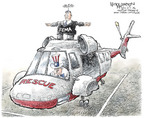 Cartoonist Nick Anderson  Nick Anderson's Editorial Cartoons 2006-04-28 Hurricane Katrina