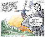 Cartoonist Nick Anderson  Nick Anderson's Editorial Cartoons 2006-05-03 wildlife