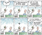 Cartoonist Nick Anderson  Nick Anderson's Editorial Cartoons 2006-05-04 gardening