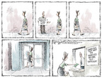 Cartoonist Nick Anderson  Nick Anderson's Editorial Cartoons 2006-08-27 poverty