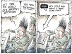 Cartoonist Nick Anderson  Nick Anderson's Editorial Cartoons 2006-10-08 North Korea