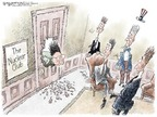 Cartoonist Nick Anderson  Nick Anderson's Editorial Cartoons 2006-10-10 Kim Il-Sung