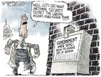 Cartoonist Nick Anderson  Nick Anderson's Editorial Cartoons 2006-11-05 press freedom