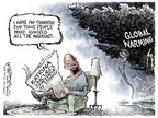 Cartoonist Nick Anderson  Nick Anderson's Editorial Cartoons 2007-02-09 Hurricane Katrina