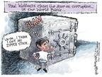 Nick Anderson  Nick Anderson's Editorial Cartoons 2007-04-15 conflict of interest