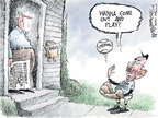 Cartoonist Nick Anderson  Nick Anderson's Editorial Cartoons 2008-02-14 baseball
