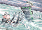 Cartoonist Nick Anderson  Nick Anderson's Editorial Cartoons 2008-02-20 sinking