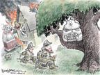 Cartoonist Nick Anderson  Nick Anderson's Editorial Cartoons 2008-04-06 federal