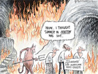 Cartoonist Nick Anderson  Nick Anderson's Editorial Cartoons 2008-09-17 summer