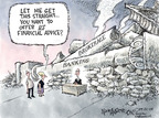 Cartoonist Nick Anderson  Nick Anderson's Editorial Cartoons 2008-09-21 finance