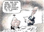 Cartoonist Nick Anderson  Nick Anderson's Editorial Cartoons 2008-10-09 2008 election