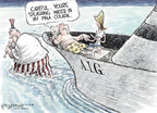 Cartoonist Nick Anderson  Nick Anderson's Editorial Cartoons 2008-10-10 fall