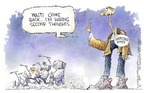 Cartoonist Nick Anderson  Nick Anderson's Editorial Cartoons 2004-11-03 John Kerry