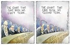 Cartoonist Nick Anderson  Nick Anderson's Editorial Cartoons 2004-11-05 2000 election Supreme Court