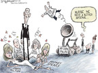 Cartoonist Nick Anderson  Nick Anderson's Editorial Cartoons 2008-10-17 John McCain