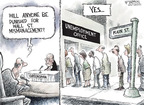 Cartoonist Nick Anderson  Nick Anderson's Editorial Cartoons 2008-10-26 fall