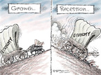 Cartoonist Nick Anderson  Nick Anderson's Editorial Cartoons 2008-10-31 finance