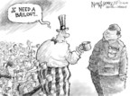 Cartoonist Nick Anderson  Nick Anderson's Editorial Cartoons 2008-12-03 bail