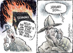 Cartoonist Nick Anderson  Nick Anderson's Editorial Cartoons 2008-12-09 recession