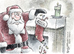 Cartoonist Nick Anderson  Nick Anderson's Editorial Cartoons 2008-12-25 fall