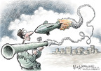 Cartoonist Nick Anderson  Nick Anderson's Editorial Cartoons 2008-12-30 shooter