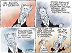 Cartoonist Nick Anderson  Nick Anderson's Editorial Cartoons 2009-01-27 big government