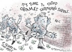 Cartoonist Nick Anderson  Nick Anderson's Editorial Cartoons 2009-02-10 recession