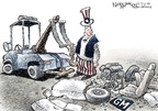 Cartoonist Nick Anderson  Nick Anderson's Editorial Cartoons 2009-03-06 bail