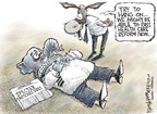 Cartoonist Nick Anderson  Nick Anderson's Editorial Cartoons 2009-04-29 filibuster