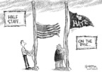 Cartoonist Nick Anderson  Nick Anderson's Editorial Cartoons 2009-06-12 flag