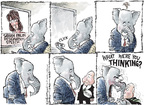 Cartoonist Nick Anderson  Nick Anderson's Editorial Cartoons 2009-07-08 John McCain