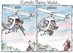 Cartoonist Nick Anderson  Nick Anderson's Editorial Cartoons 2009-07-28 wildlife