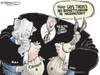 Cartoonist Nick Anderson  Nick Anderson's Editorial Cartoons 2009-08-11 bipartisan