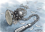 Cartoonist Nick Anderson  Nick Anderson's Editorial Cartoons 2009-09-17 ball